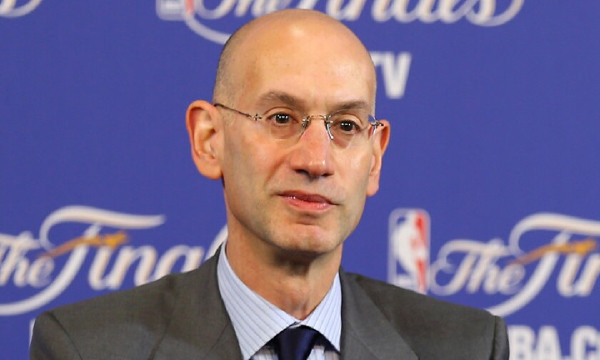 NBA Commissioner Adam Silver is going to Shanghai on Oct. 9 and said he hopes to meet with Chinese officials and some of the league's business partners.