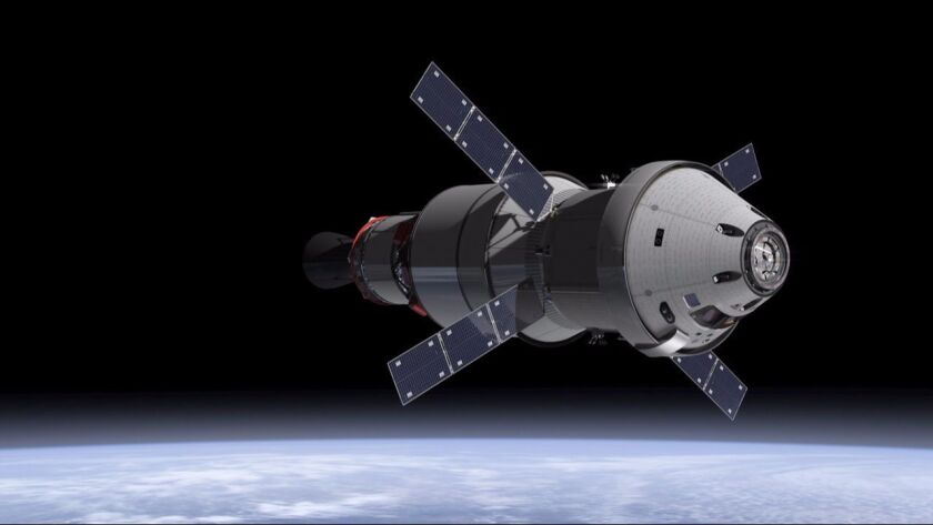 Trump's budget proposal includes $3.7 billion for the Orion crew vehicle, which NASA is developing to send humans on deep-space missions.