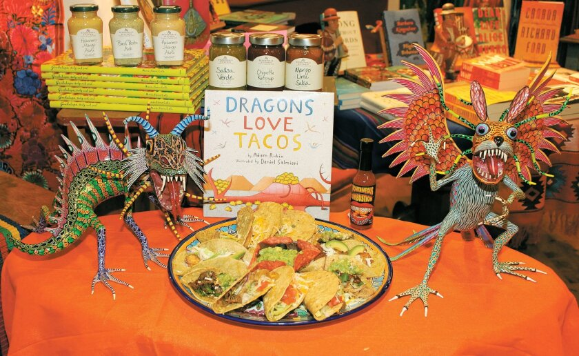 "A Dragon Taco Platter from Casa Guadalajara will be one of the featured treats at ""Eat. Drink. Read."""