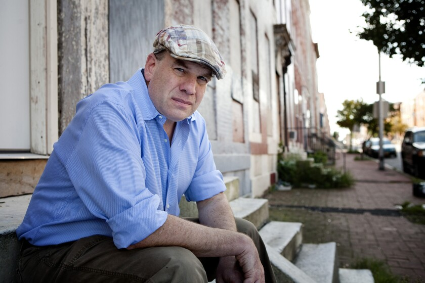 """David Simon, creator of the acclaimed HBO series """"The Wire,"""" is seen in 2010 in Baltimore."""