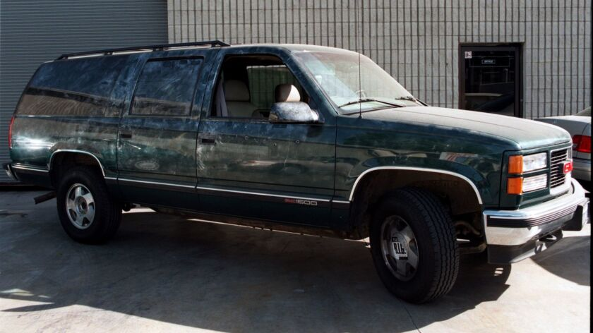 Notorious B.I.G. was in the passenger seat of this SUV when he was shot in March 1997.