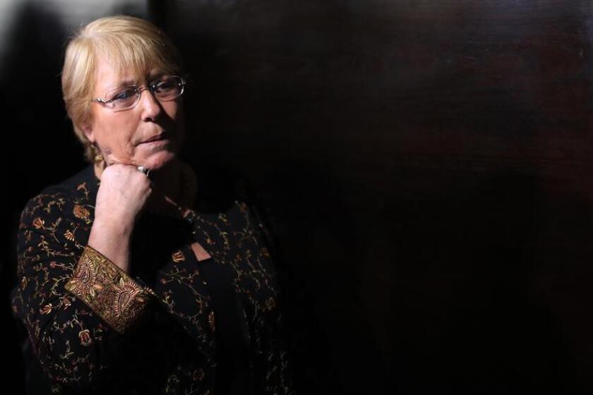 La expresidenta de Chile Michelle Bachelet. EFE/Archivo