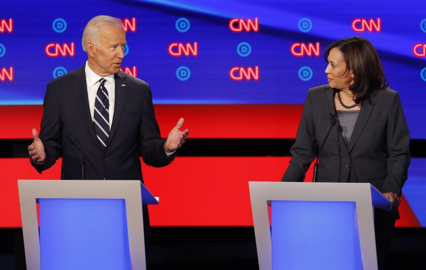 Kamala Harris Prospects Improve As Joe Biden Searches For A Running Mate Los Angeles Times