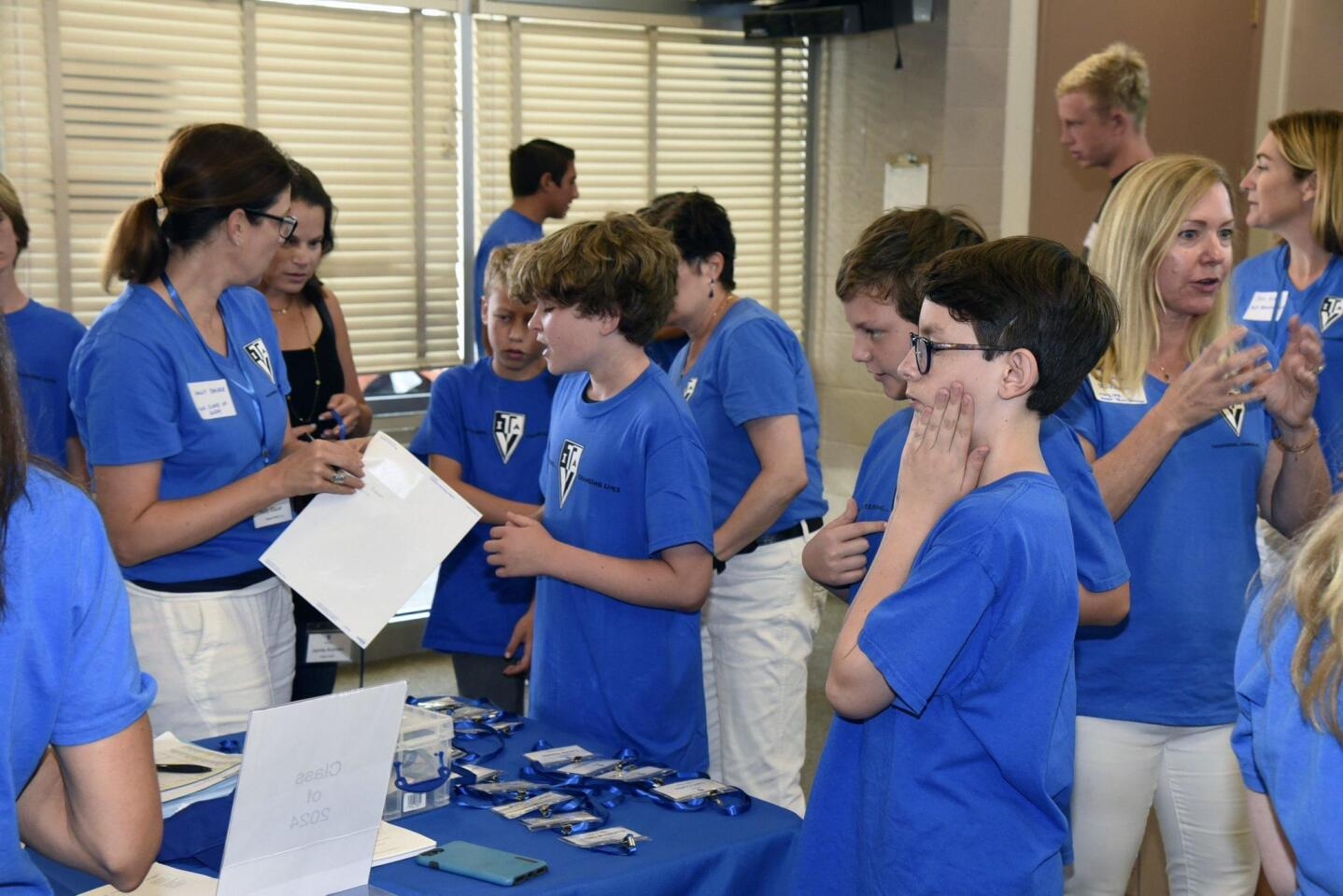 Teen Volunteers in Action SD Chapter 3 Fall Kick-off event