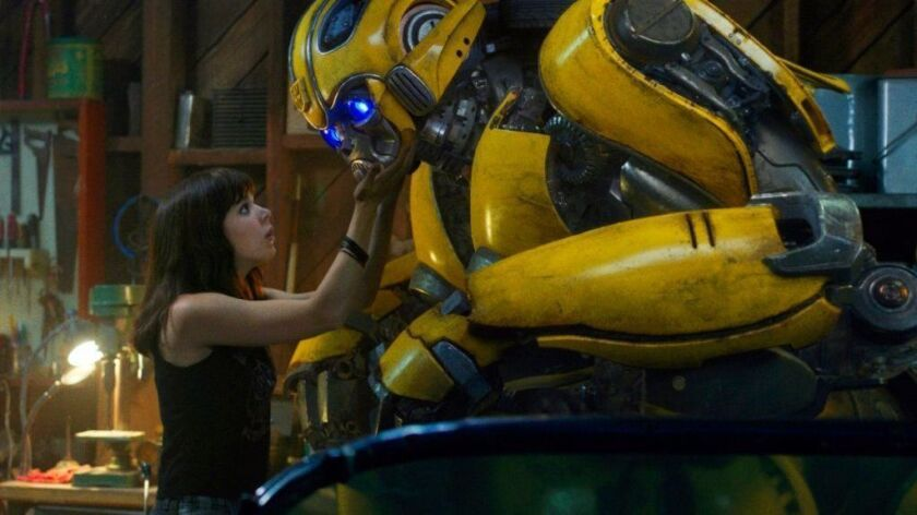 "Hailee Steinfeld as Charlie in a scene from ""Bumblebee."""