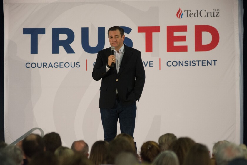 Republican presidential candidates campaign in Nevada