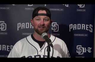 Padres players discuss the upcoming season at FanFest