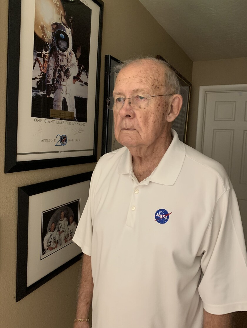 Jay Honeycutt, an Apollo era engineer in flight operations who later became chief of the Kennedy Spa
