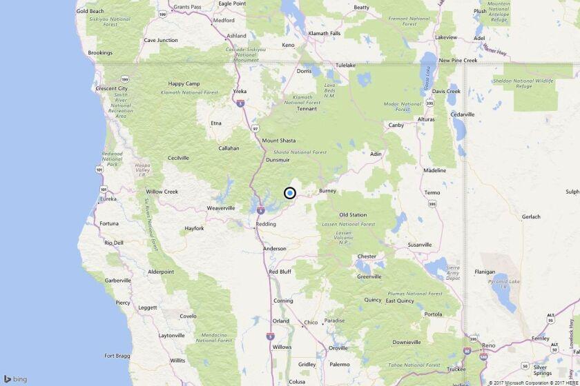 Earthquake: 3.8 quake strikes near Wengler, Calif.