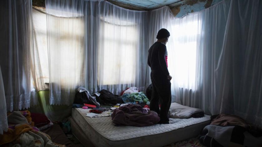 Afghan migrants Turkey