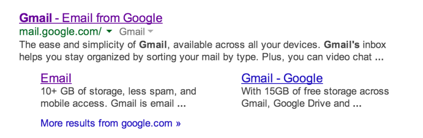 """A strange glitch that occurs when users search for """"Gmail"""" while logged into Google is causing one man to receive thousands of unwanted emails."""