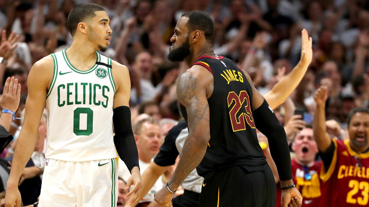 the best attitude 5decc acaf9 LeBron James and Cavaliers head to Boston looking for an ...