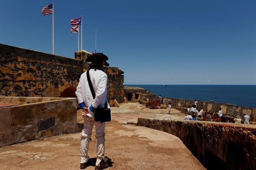 El Castillo San Felipe del Morro, una fortificación española del siglo XVI construida en el extremo norte de San Juan. EFE/Archivo