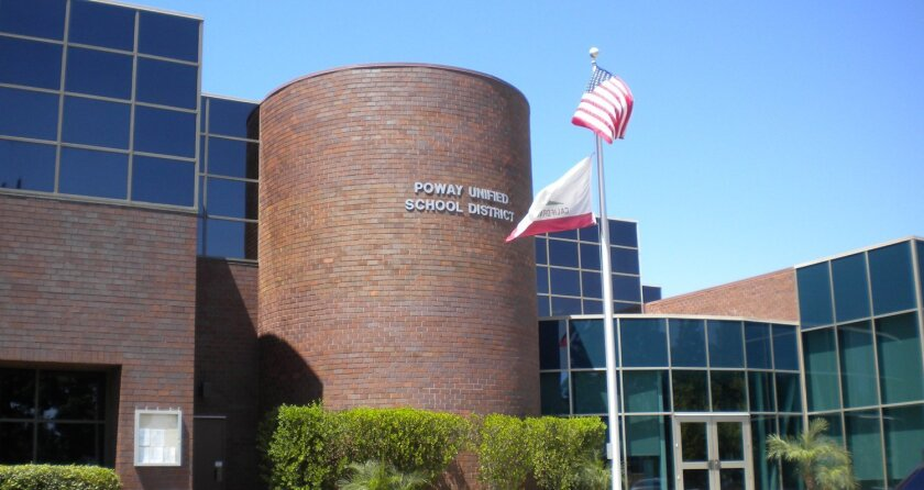 Poway Unified School District headquarters in Carmel Mountain Ranch.