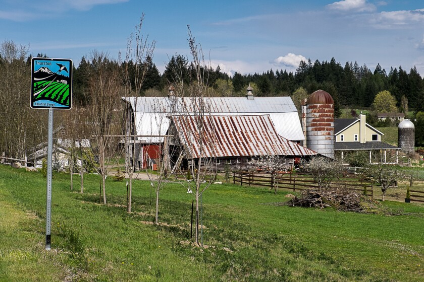 A new self-guided tour called the Thurston Bountiful Byway takes travelers to farms, wineries and hiking-biking trails.