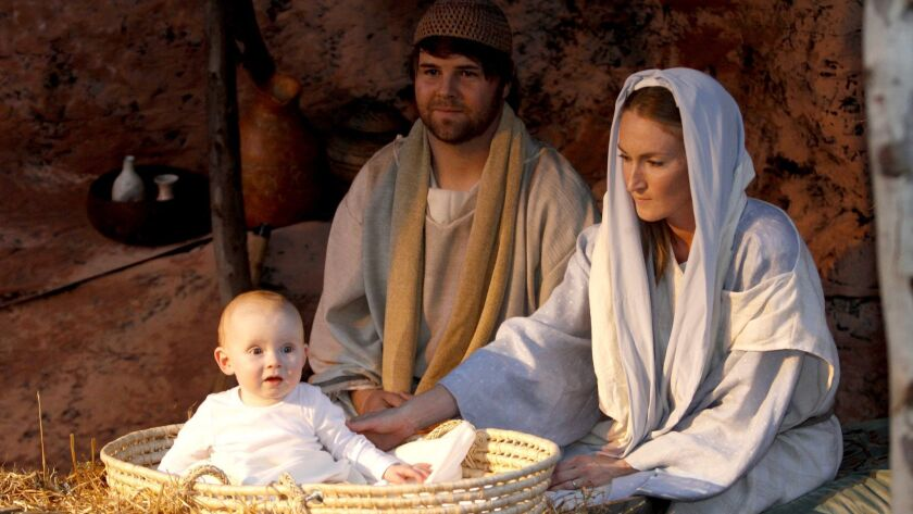 Beside having more than 200 nativity scenes on display, the Church of Jesus Christ of Latter Day Sai