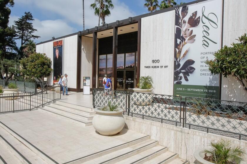 Timken Museum in Balboa Park in San Diego