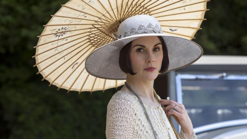 """Michelle Dockery in """"Downton Abbey"""" on KOCE"""