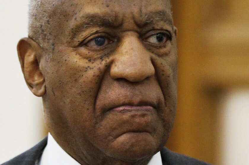 FILE - In this May 24, 2016 file photo, Bill Cosby departs the Montgomery County Courthouse after a preliminary hearing, in Norristown, Pa. Newly public police records in Bill Cosby's criminal sex-assault case show his accuser, Andrea Constand, planned to confront him weeks after their 2004 encount