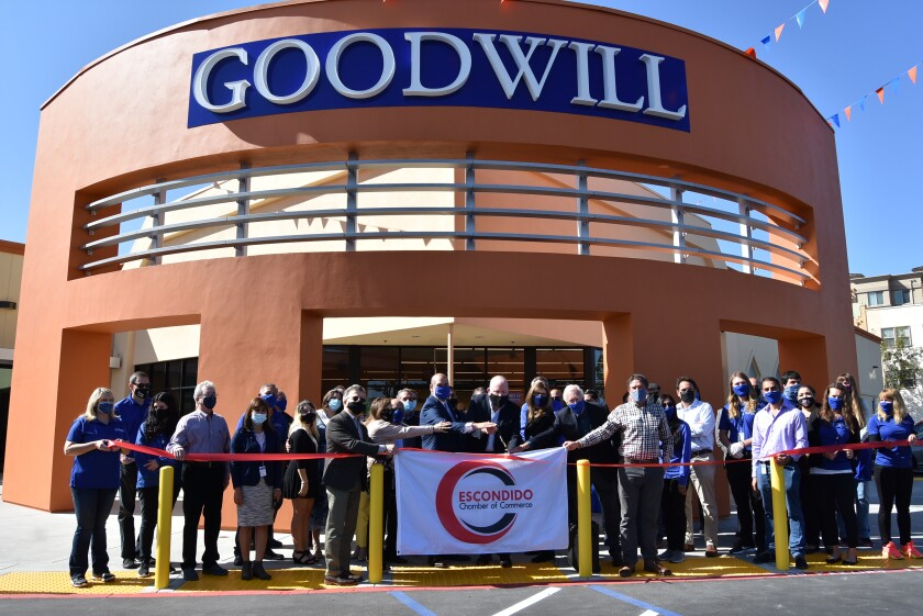 Goodwill San Diego recently opened its new retail store, donation center and Community Employment Center in Escondido.