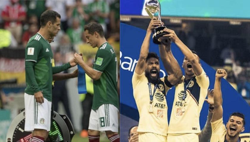 El Tri y el América, luz y sombra del futbol mexicano.