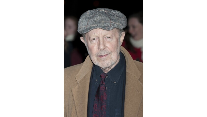 """Director Nicolas Roeg, known for films such as """"Performance,"""" """"Don't Look Now"""" and """"The Man Who Fell to Earth,"""" died Friday, his son said."""