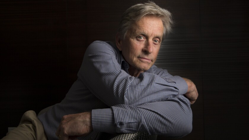 """Star and producer Michael Douglas plays a kind of latter-day Gordon Gekko but with far looser screws in """"Beyond the Reach."""""""