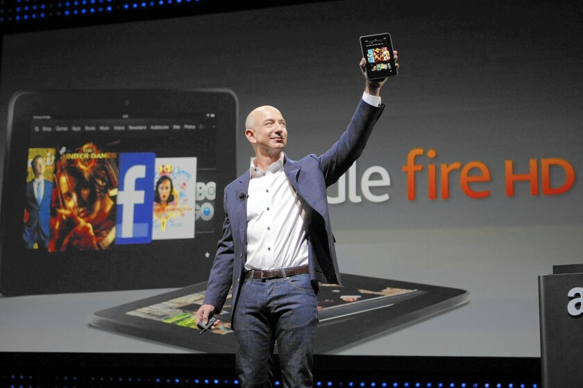 Amazon CEO Jeff Bezos shares thoughts on corporate culture, decision-making and failure