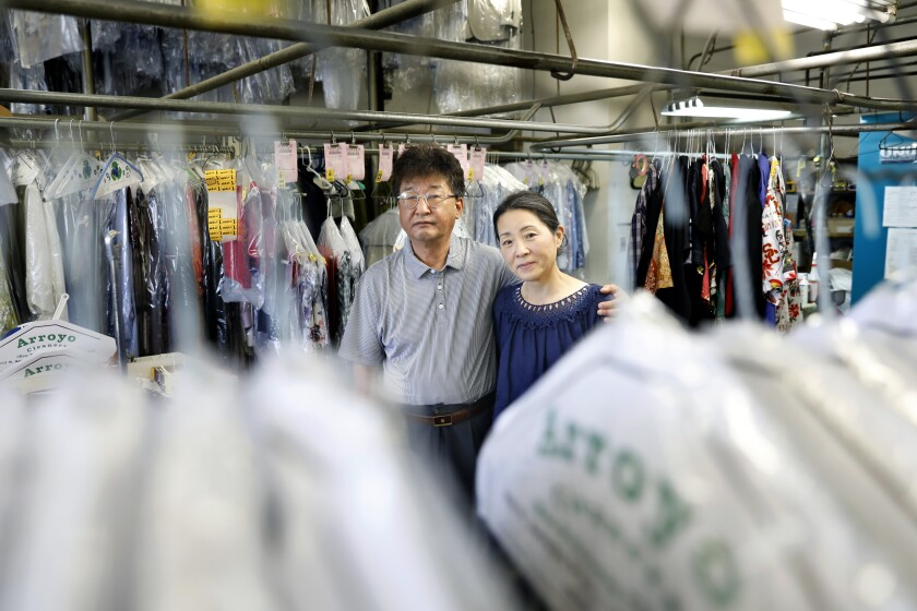 Korean dry cleaners are struggling to hold on during the pandemic