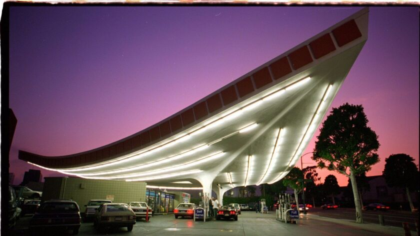 Gin Wong's landmark gas station captured the spirit of midcentury Los Angeles.