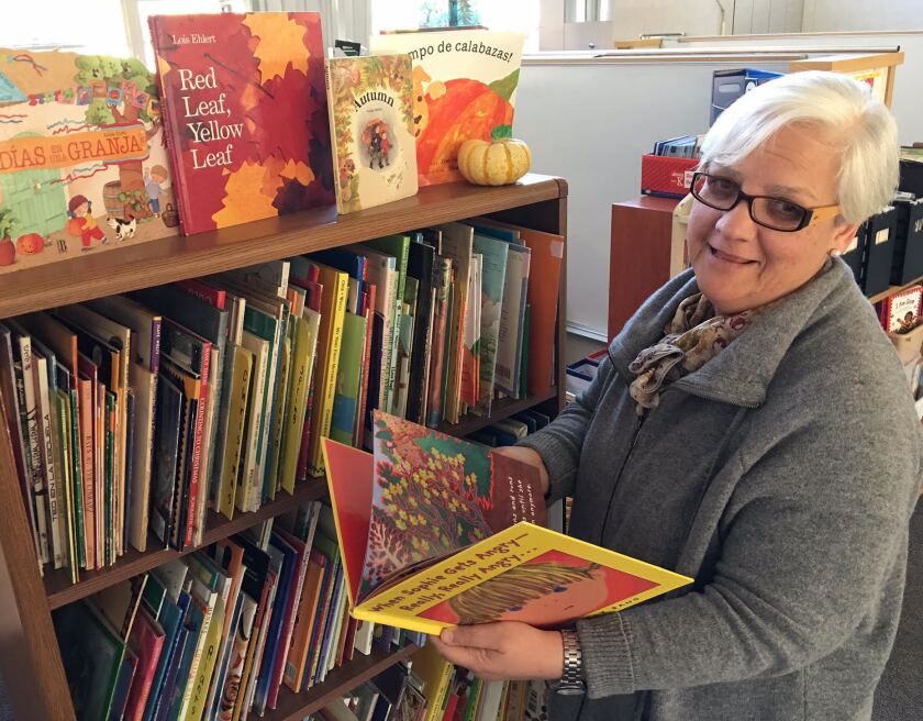 Denise Beck, principal of Cesar Chavez Elementary School in Davis, Calif., says bilingual education teachers once had no books, standards or training opportunities.
