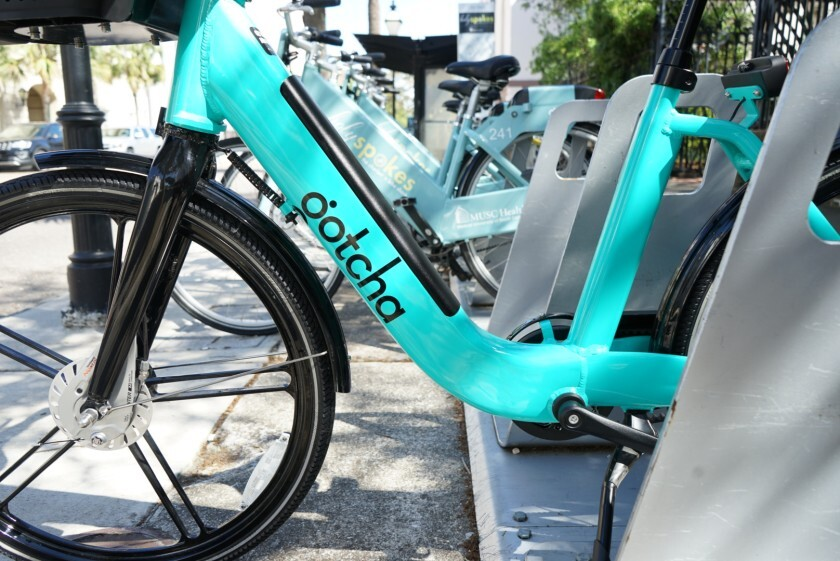 A one-year pilot program to rent Gotcha e-bikes in Encinitas, Solana Beach and Del Mar is on hold because of tariffs on Chinese products.