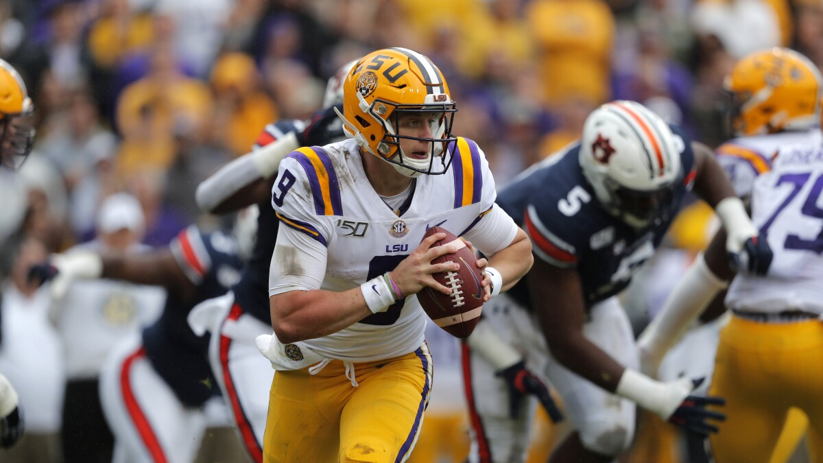 Lsu Jumps Alabama To Claim No 1 Spot In Ap College Football