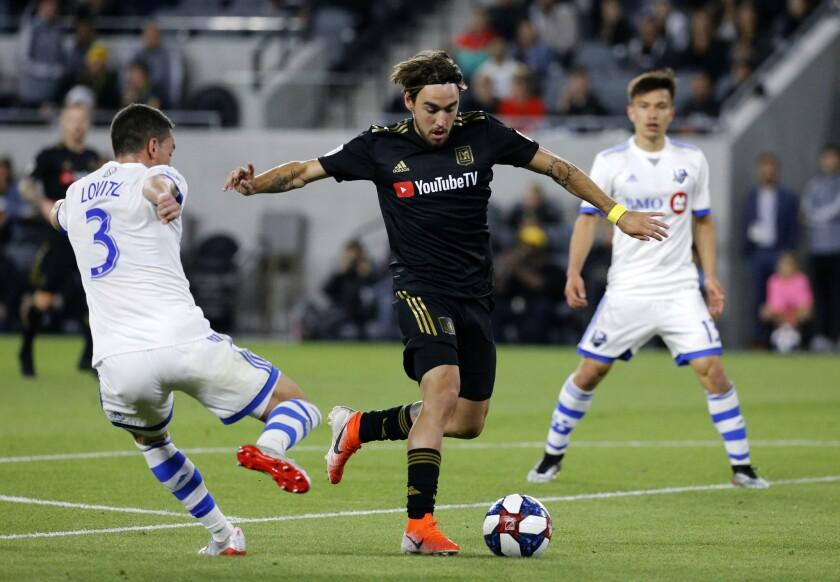 APphoto_MLS Impact Los Angeles FC Soccer