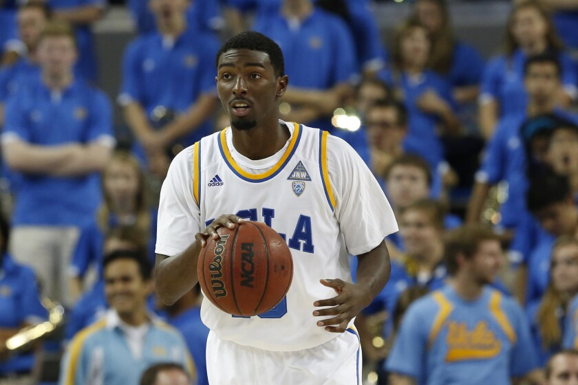 UCLA guard Isaac Hamilton and the Bruins basketball team will take part in the Battle 4 Atlantis Nov. 24-28. The tournament, like several other college tournaments, is being held next to a casino.