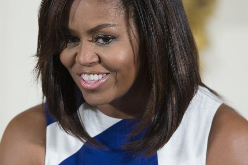 Michelle Obama. (AP Foto/Evan Vucci, Archivo)