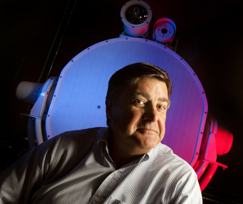 LRAD Corp. Chief Executive Tom Brown aims to find new markets for the company's long range acoustical devices