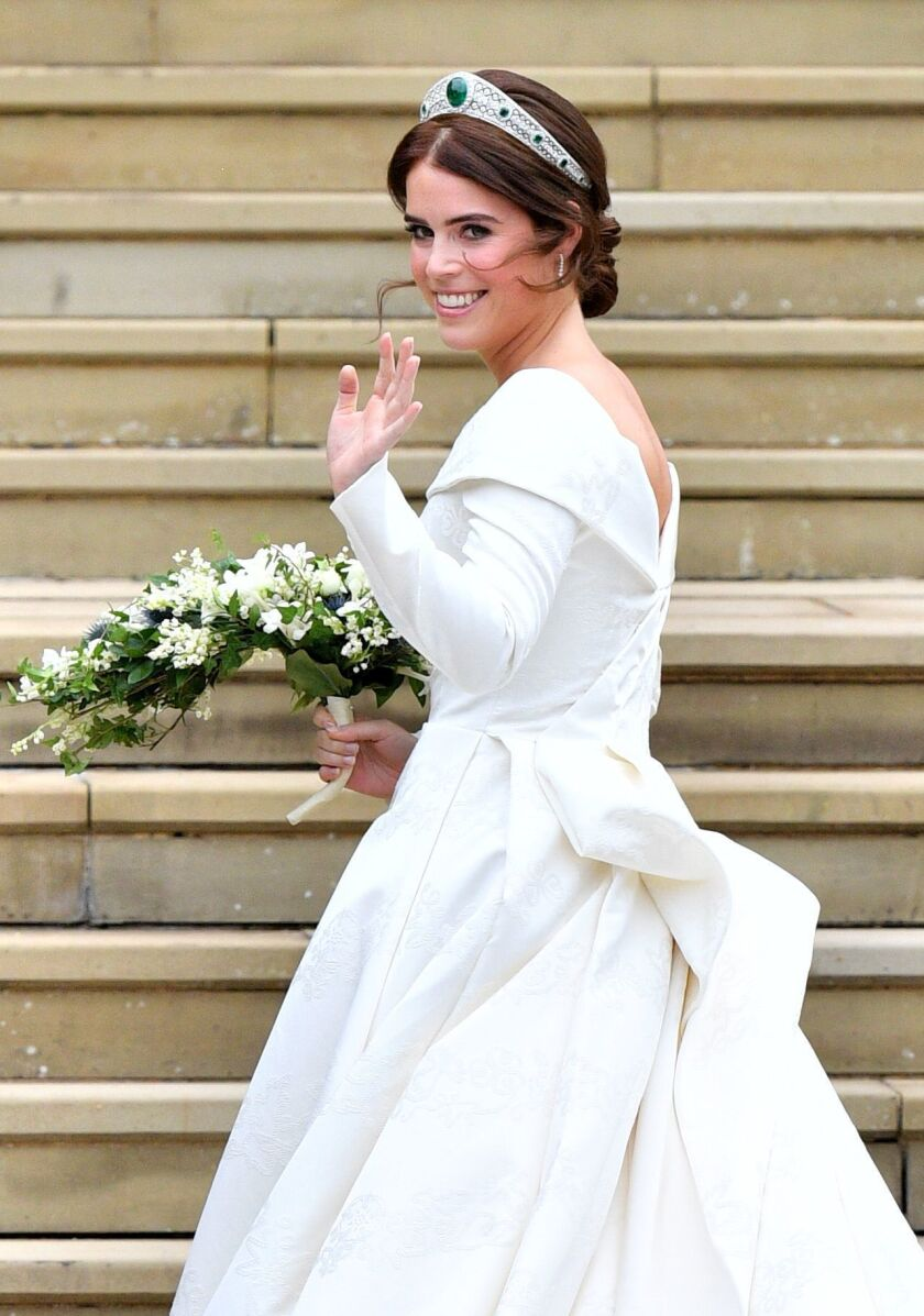 The wedding of Princess Eugenie and Jack Brooksbank, Pre-Ceremony, Windsor, Berkshire, UK - 12 Oct 2018