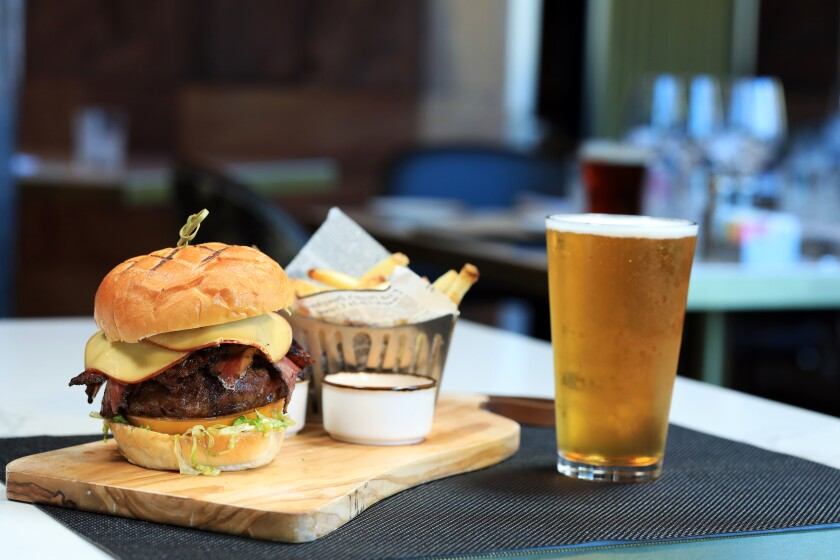 Viejas Casino & Resort recently unveiled the new restaurant concept Baron Long Bar & Grill, which serves six burger creations, including the Baron Burger, with smoked Gouda, pastrami and special Baron Sauce.
