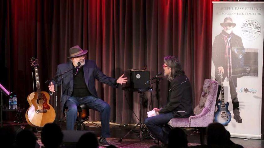 Musician Jack Tempchin discusses his career with Grammy Museum executive director Scott Goldman