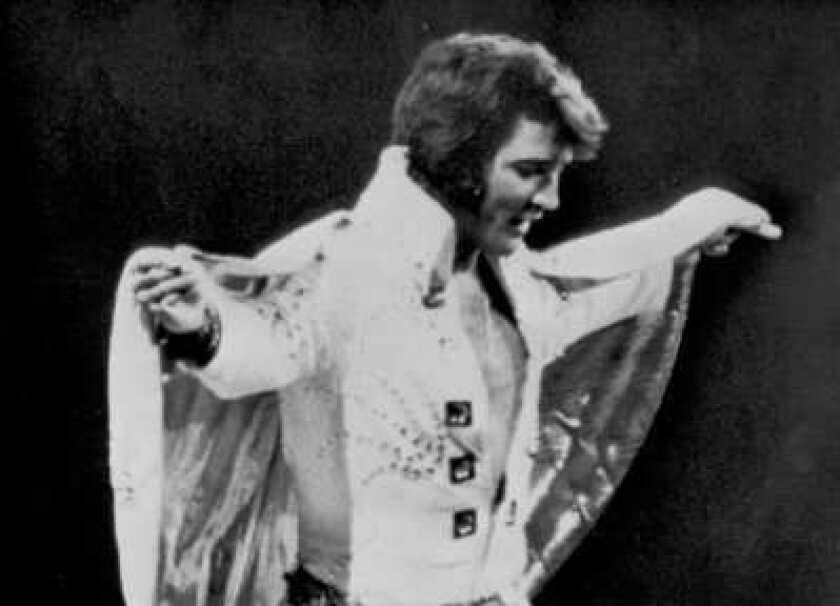 Film of Elvis Presley's 1972 New York City concert on new reissue