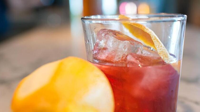Vermouth rock & twist at Monello in Little Italy. (Courtesy photo)