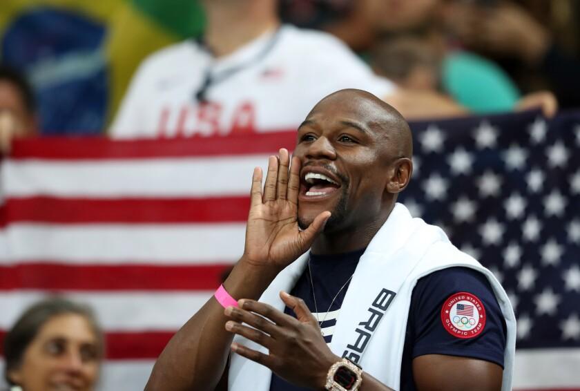 Floyd Mayweather, Jr. FOTO: Jeff Swinger-USA TODAY Sports