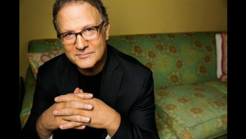 Albert Brooks in Santa Monica.