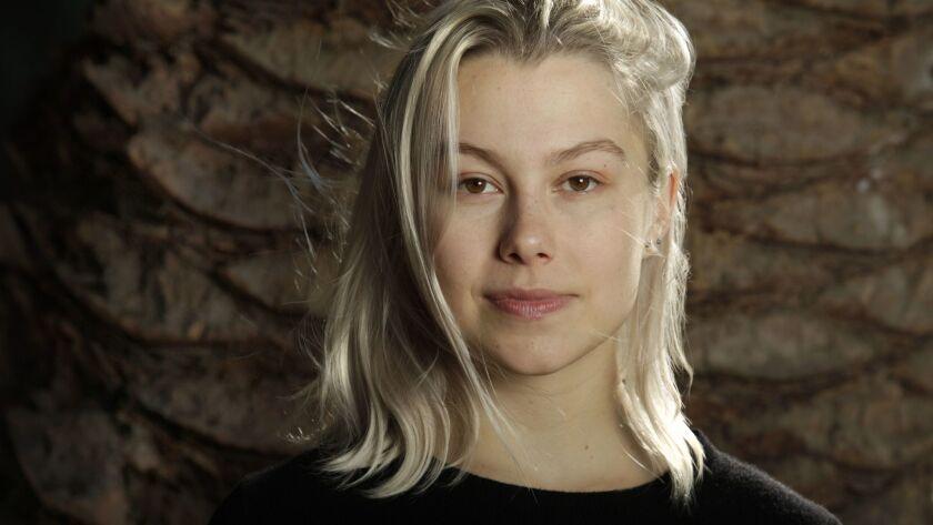 LOS ANGELES, CA--DECEMBER 08, 2017: Phoebe Bridgers is an indie/folk musician based in Los Angeles,