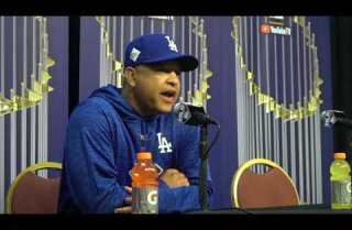 Dave Roberts talks Game 3 lineup and working with Yu Darvish