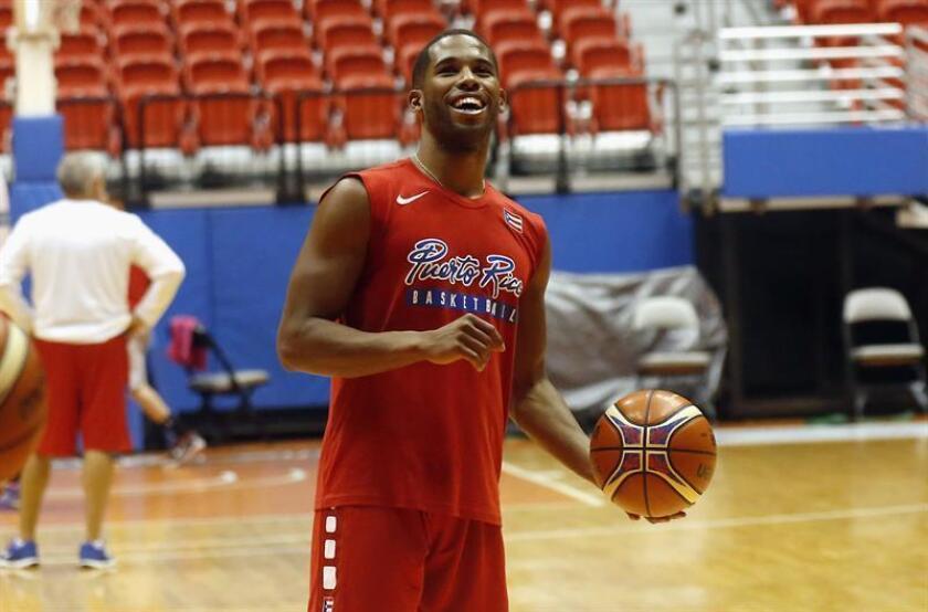 El jugador de la selección de baloncesto de Puerto Rico, Gary Browne. EFE/Archivo