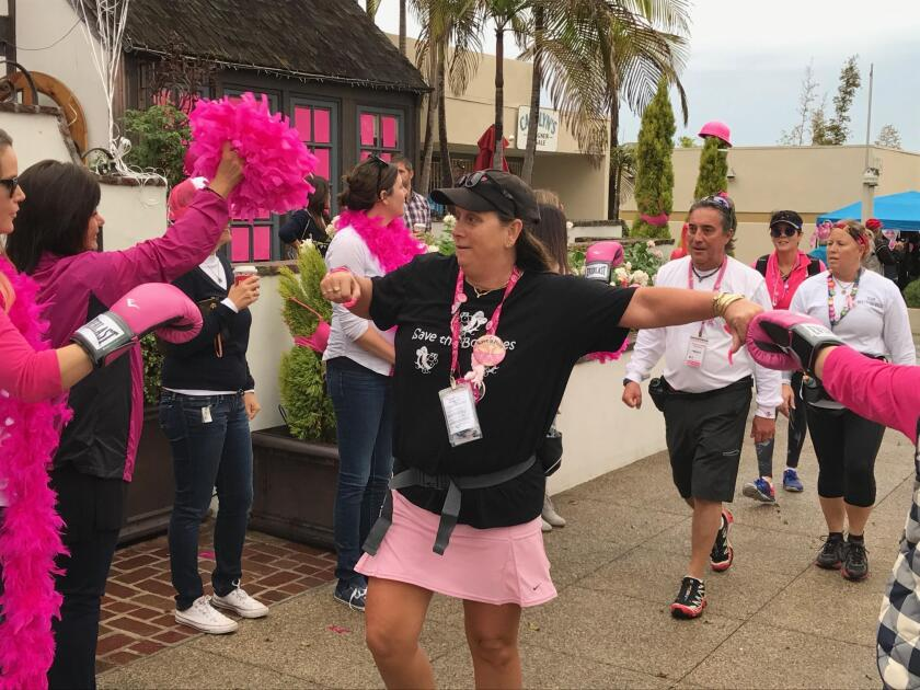 Del Mar has hope for a cure