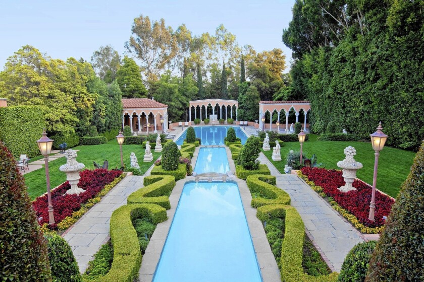 The Beverly House, on a six-acre compound in Beverly Hills, is listed for sale at $135 million or for lease at $600,000 a month.