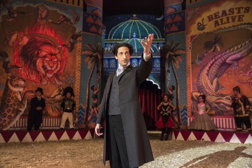 "Adrien Brody stars in the miniseries ""Houdini."""